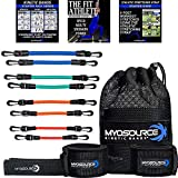 Kinetic Bands Speed Resistance Bands for Legs with Athletic Stretch Strap for Post Workout Stretches