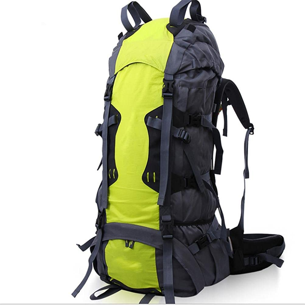 ZGSP 70L Waterproof Hiking Camping Travel Backpack Pack Mountaineering Climbing
