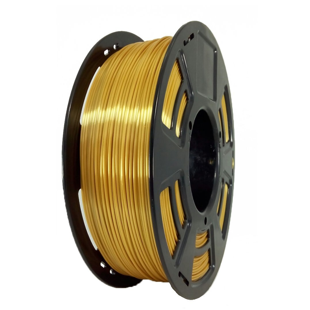 Stronghero3D Silk Gold 3D Printer PLA Filament1.75 mm 1 KG 2.2 lbs Spool