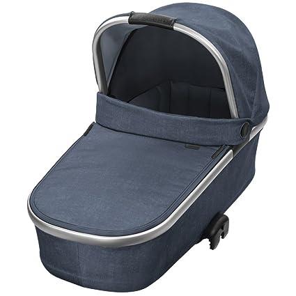 Bébé Confort ORIA Nomad Blue - Capazo plegable con capota protectora, color azul