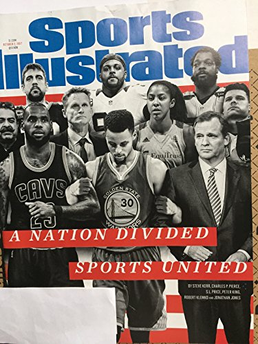 Sports Illustrated Magazine (October 2, 2017) A Nation Divided Sports United Cover