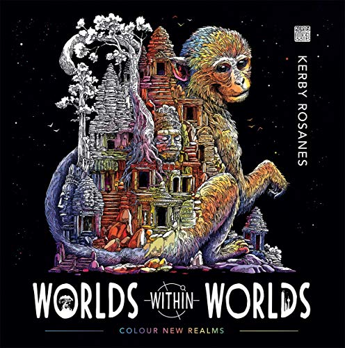 Worlds Within Worlds: Colour New Realms (Colouring Book)
