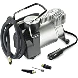 Car Tire Inflator Air Pump Portable Car Air Compressor Overheat Protection for Car Bike SUV Tires Air Bed 12V 168W