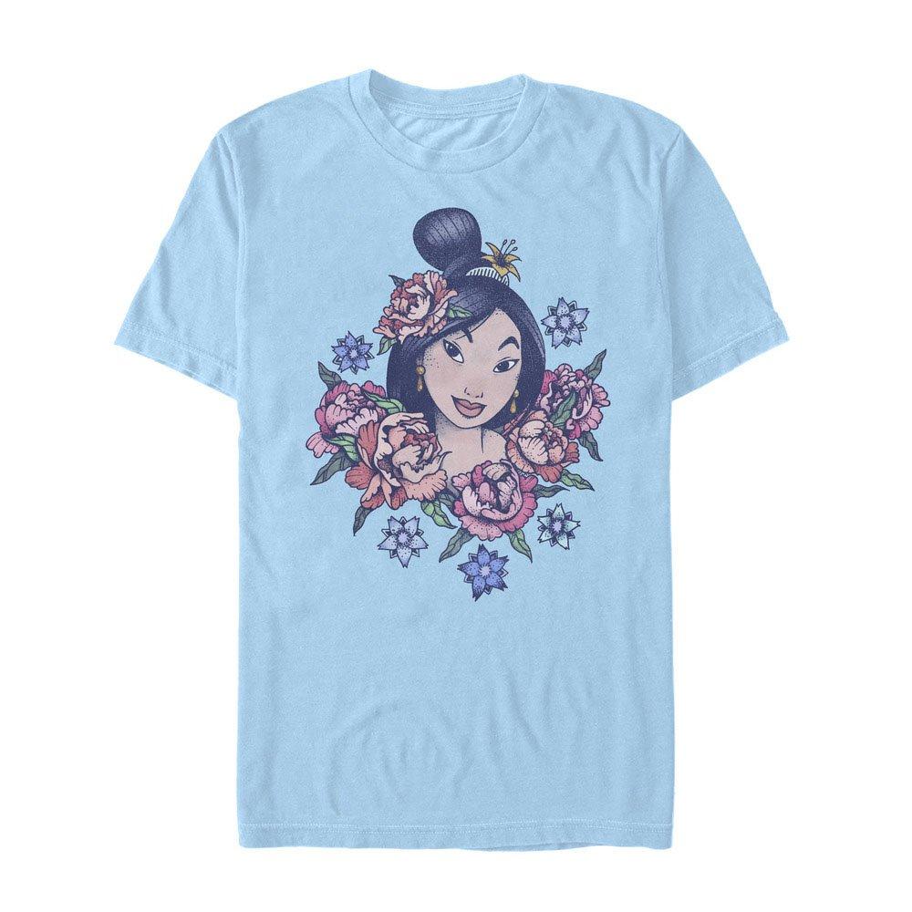 Mulan Floral Portrait T Shirt 4524