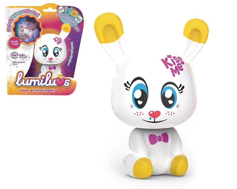 TIgerHead Toys LUMILUVS, Ltd. - Conejo Mascotas Electró nicas con Luz y Sonidos. , Color Blanco (59353) Ltd. - Conejo Mascotas Electrónicas con Luz y Sonidos. LB0001A8