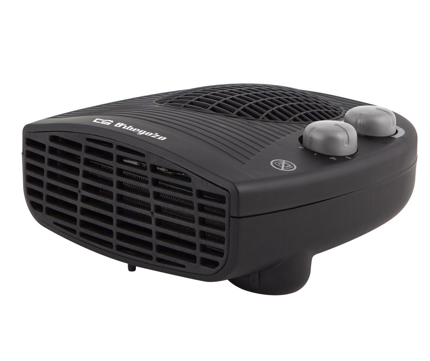 Orbegozo FH 5028 - Calefactor eléctrico con termostato ajustable, 2000 W de potencia, 2