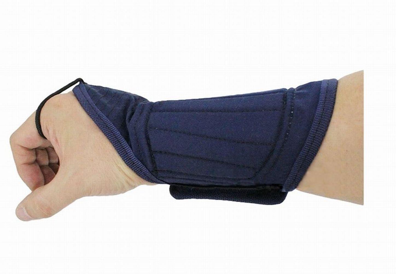 Poj Japanese Traditional Martial Arts ( Budo ) Kote Wrist Supporter for Kendo [ 1つサイズ] B0791W1RCL