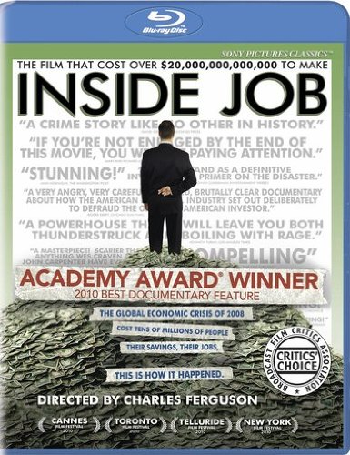 Inside Job [Blu-ray] -  Rated PG-13, Charles Ferguson, Matt Damon