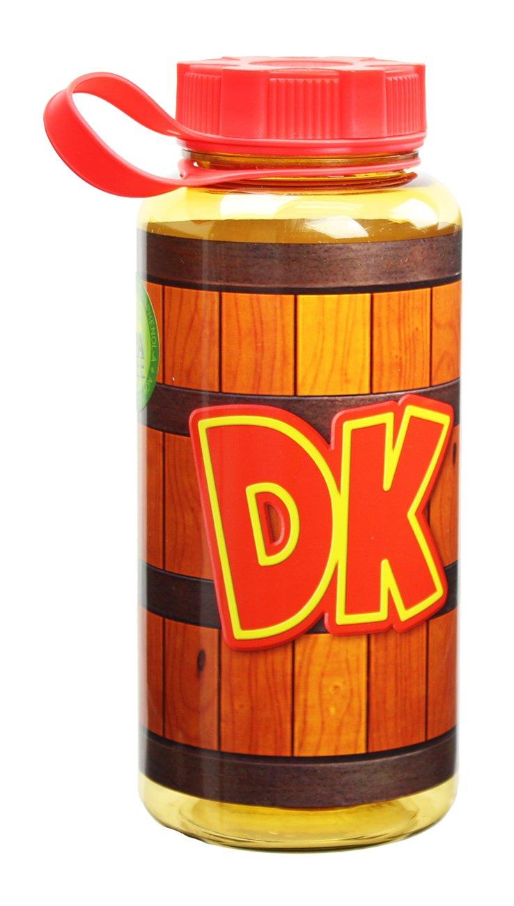 Donkey Kong Barrel Water Bottle Just Funky