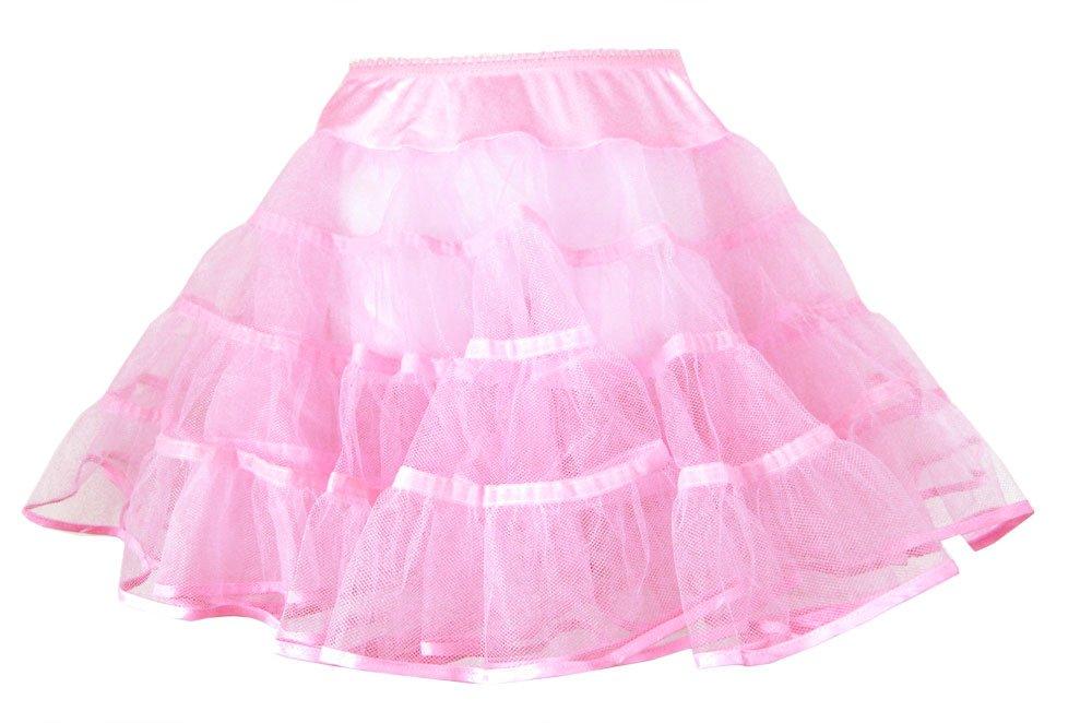 Hip Hop 50s Shop Girls Crinoline Petticoat Slip