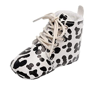 bc1aae49eed2 Challen Unisex Kids Winter/Autumn Shoes,Leopard Print Boots First Walkers  Sport Running Sneakers