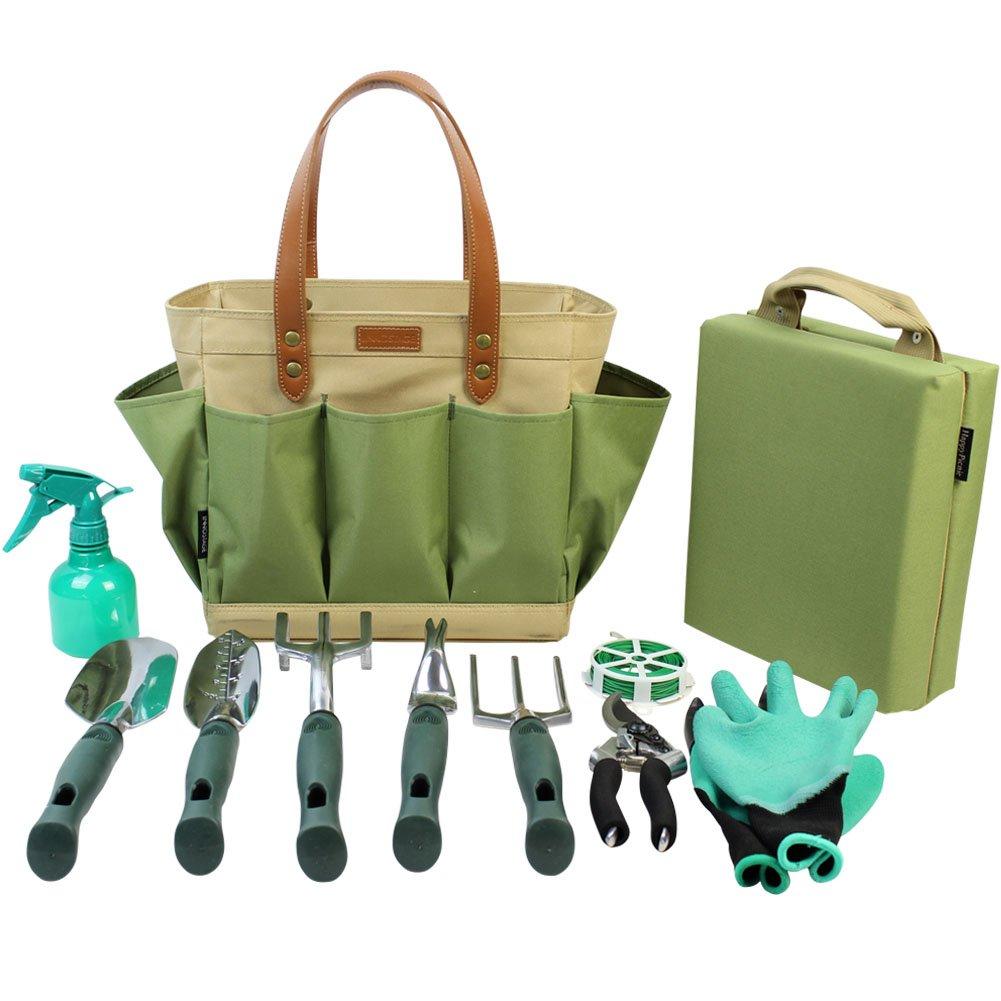 Garten Werkzeug Tote massiv Tasche mit 11 Stück Handwerkz