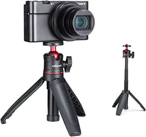 ULANZI MT-09 Mini tr/ípode de poste de extensi/ón para GoPro hero 8 para gopro max para c/ámara de acci/ón Osmo