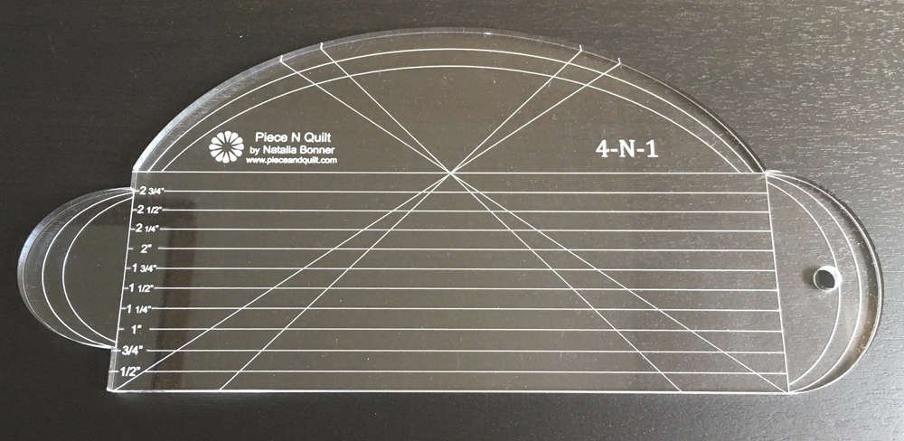 Amazon Piece N Quilt 4 N 1 Ruler Acrylic Template By
