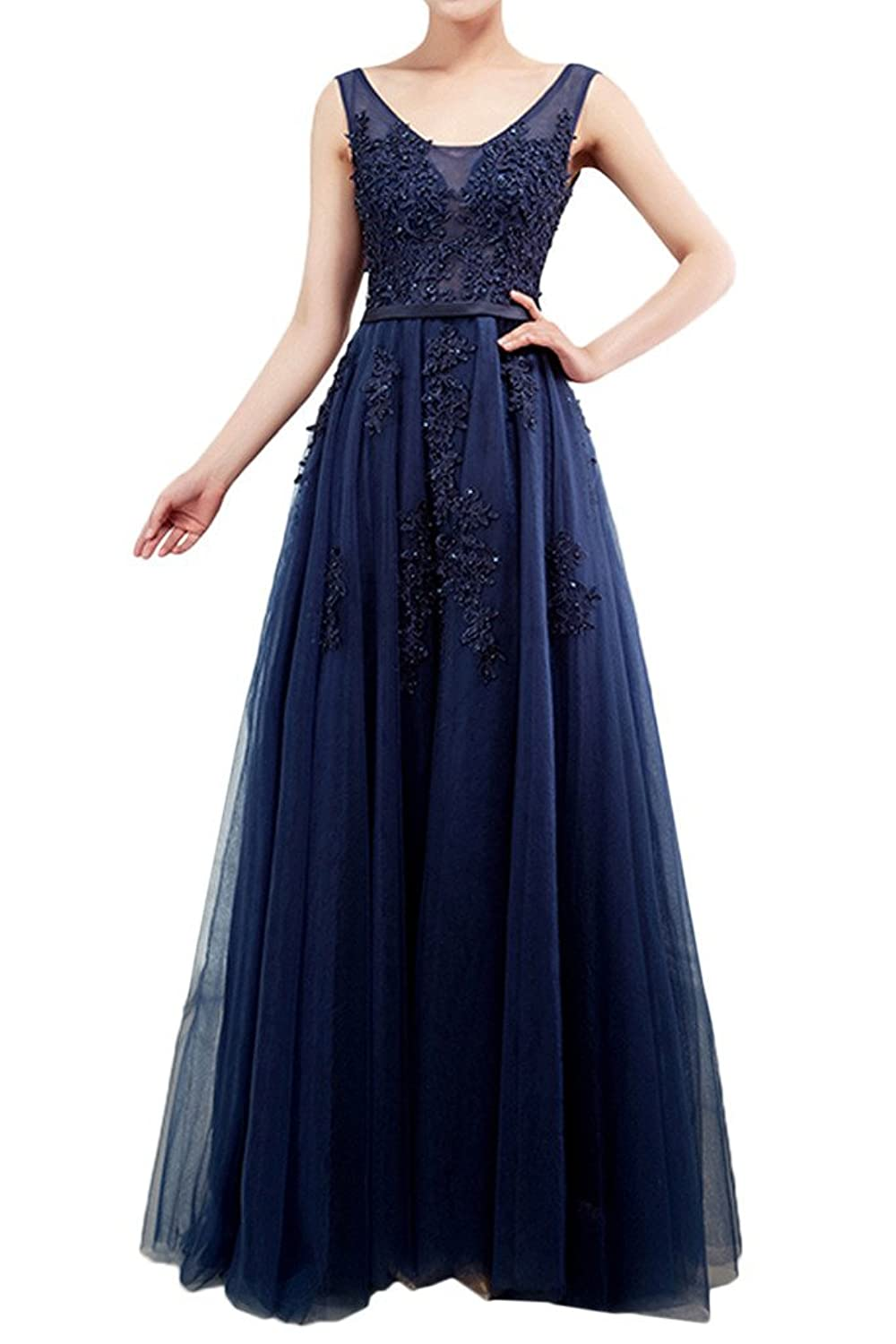 Amazon.com: Gorgeous Bridal Exquisite Floor Length Formal Gowns for Party Prom Lace: Clothing