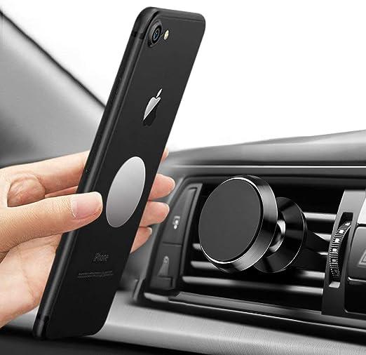 tonitott Soporte Móvil Coche Magnético Universal Magnético Teléfono Soporte Coche Metálico Montaje de 360°Rotación Soporte Móvil Coche para iPhone ...