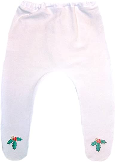 Jacquis Baby Girls Kelly Green Christmas Tights with Red Bows 5 Sizes