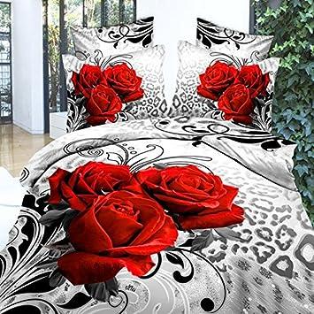 Leaptech Bed Linen Set 3D Oil Printing Bedding Set FLOWER ROSE Design Bed  Clothes 3D Wholesale