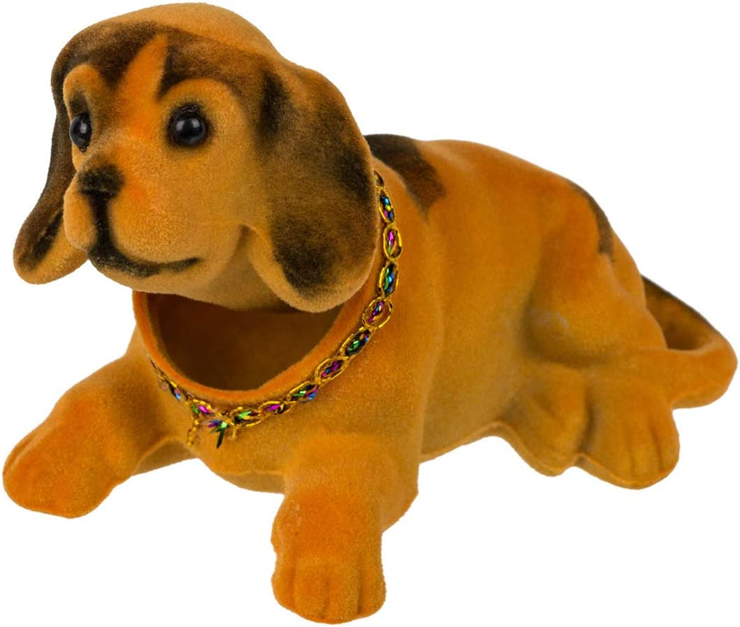 Melancholita Wackelhund Wackelkopf Chihuahua ideal f/ür das Auto Blau