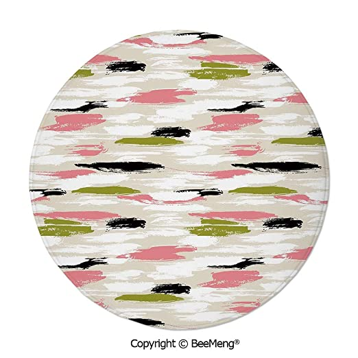 Alfombra redonda de 24 pulgadas de diámetro, con impresión ...