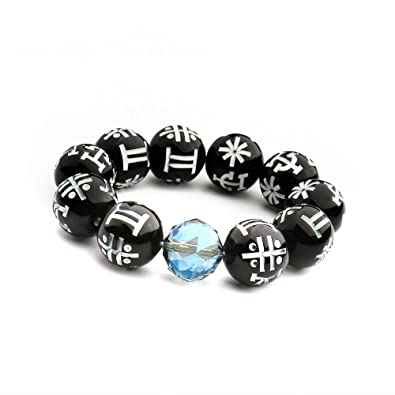 d1a274efc OMG Black Panther KIMOYO Beads Bracelet Wakanda T Challa Bag     Amazon.co.uk  Jewellery