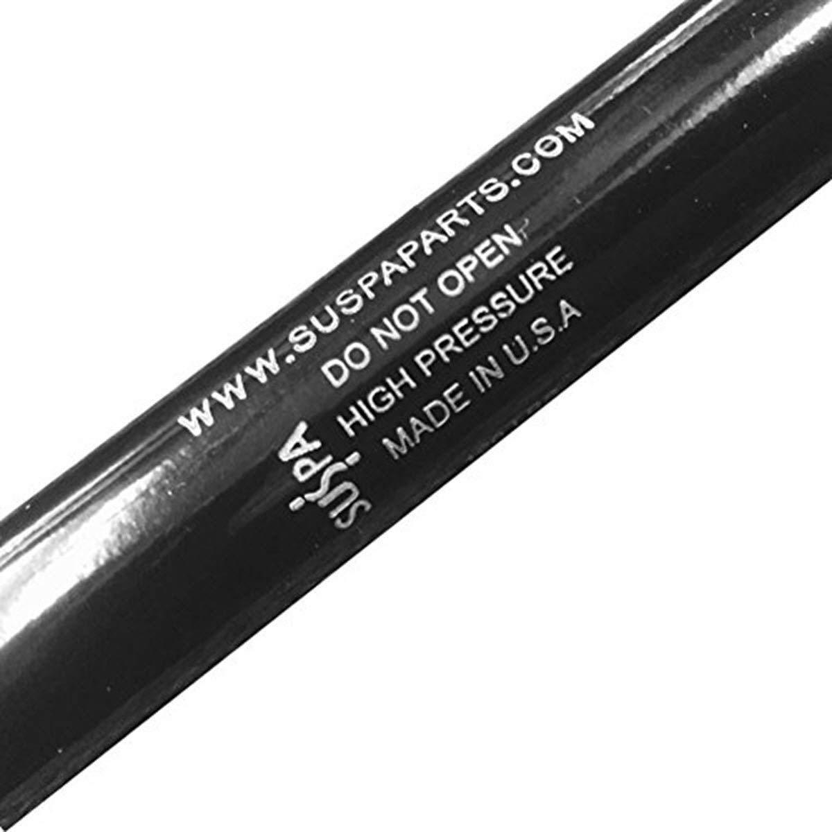 "Suspa C16-06874 C1606874 17"" Gas Prop, Quantity (2), Force 40 Lbs Per Prop, Force Per Set 80 Lbs, Camper Rear Window, Tonneau Cover Lift Supports, Struts, Made in USA"