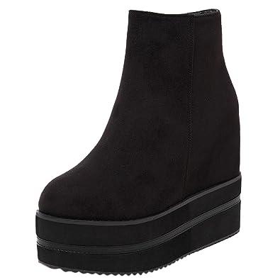 Style Chaussure OCHANTA Mode Compensee coreen Bottine WEIH2D9