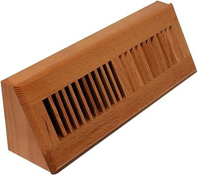 Decor Grates Wl15bb Floor Register 15 Inch Natural Oak Heating Vents Amazon Com