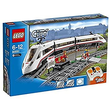 LEGO 60051 City High-Speed Passenger Train: LEGO: Amazon.co.uk: Toys ...