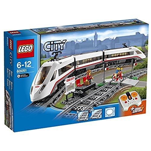 Lego 60051 Treno passeggeri alta velocità Lego Italy