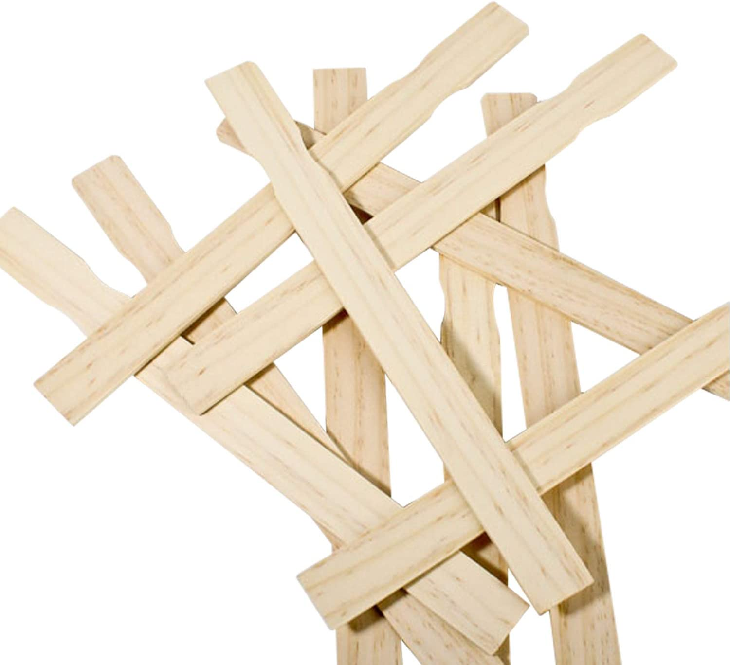 Garden Box of 100-12 Inch Premium Grade Splinter Free Woodman Crafts Paint Stir Sticks Ideal For DIY Wood Craft Projects Pack of 100 Library Paddle To Mix Epoxy Or Paint