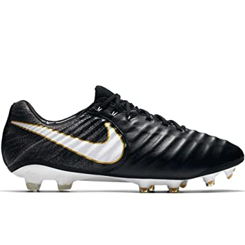 9ad897929f4f Nike Tiempo Legend VII FG, Mens Football Boots, Black (Black/White ...