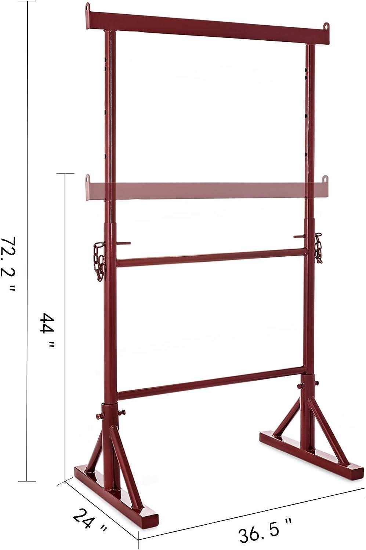 FlowerW 250KG Ger/üstbock Kapazit/ät Tragbare Eisenband St/änder Ger/üstbau Eisen Stahlbauer H/öhenverstellbare St/ützbasis 5 Levels