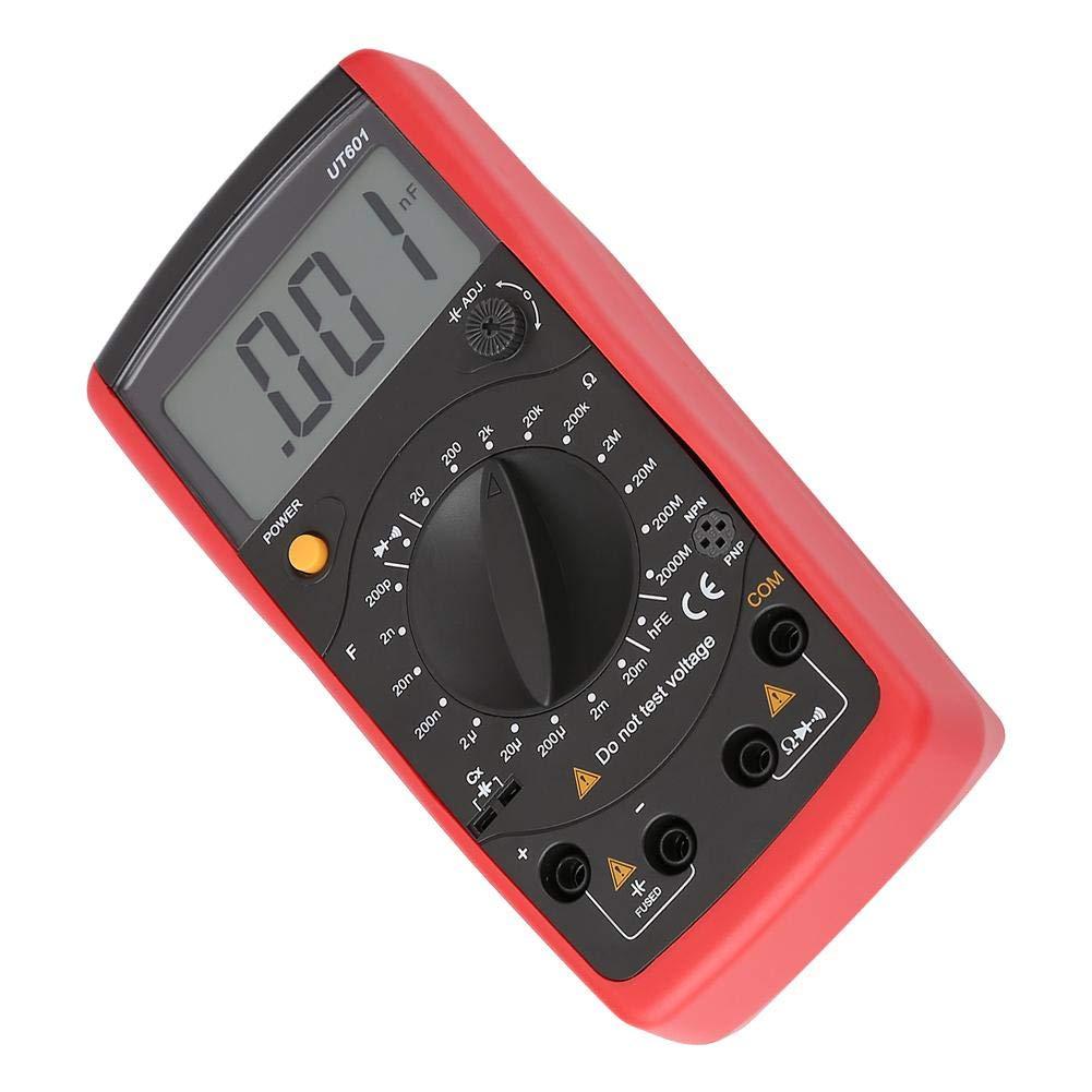 UT601 Kapazit/ätsmesser,Capacitance Meter UT601//UT603 Kapazit/ätsmessger/äte Ohmmeter Widerstands LCR Messger/ät LCR Kondensator Tester Digitaler Kondensator Widerstandsmesser,hohe Pr/äzision