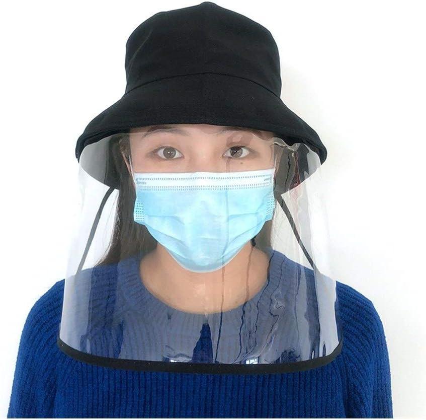 No Logo WYXFBDM Antivirus máscara de protección Aislante del Sombrero del Casquillo de Manera Desmontable