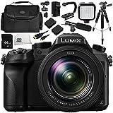 Panasonic Lumix DMC-FZ2500 Digital Camera Bundle 12PC Kit - Includes 64GB SD Memory Card & MORE - International Version (No Warranty)