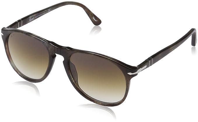 95650c7acc Persol Men s PO 9649S 9649 Aviator Sunglasses