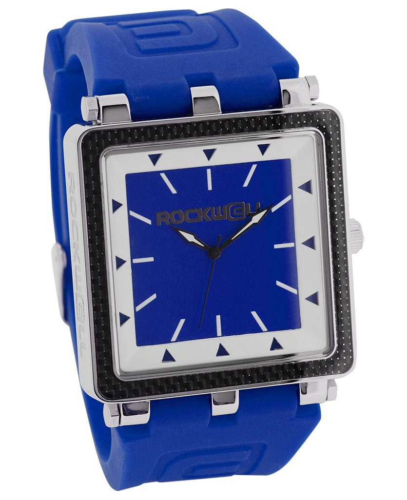 Rockwell Time Men's CF Dial Watch, Navy Case/White by Rockwell Time
