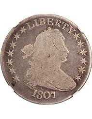 1807 P Bust Half Dollars Draped Bust Half Dollar Good-4 NGC