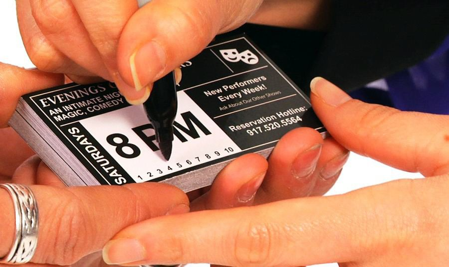 How to do the amazing business card office magic trick colourmoves