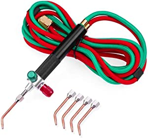 Jeweler's Oxygen/Propane or Acetylene Mini Soldering Torch - Ships From USA