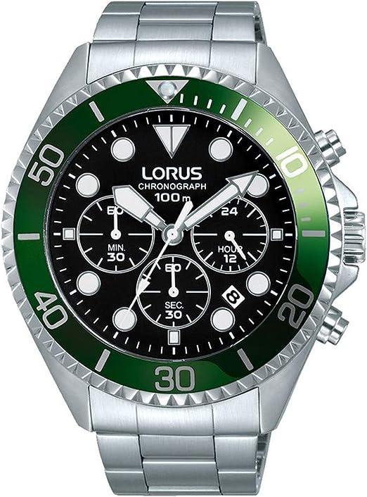 orologio cronografo uomo Lorus Sports casual cod. RT321GX9