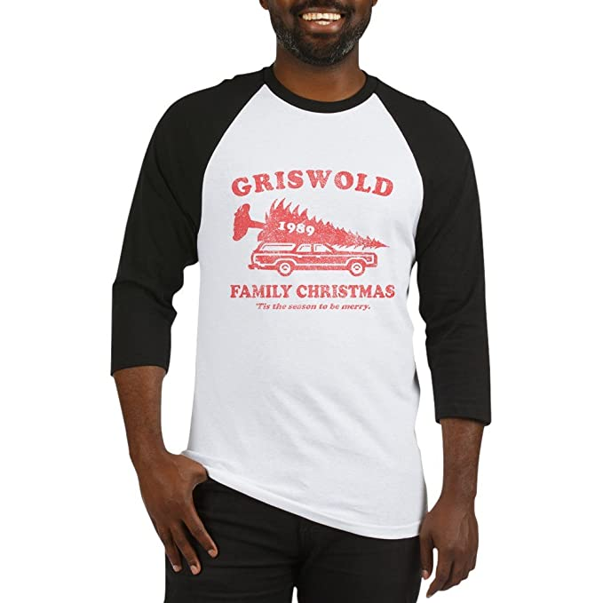 CafePress Griswold Family Christmas Baseball Jersey Cotton Baseball Jersey 6ab77265b594