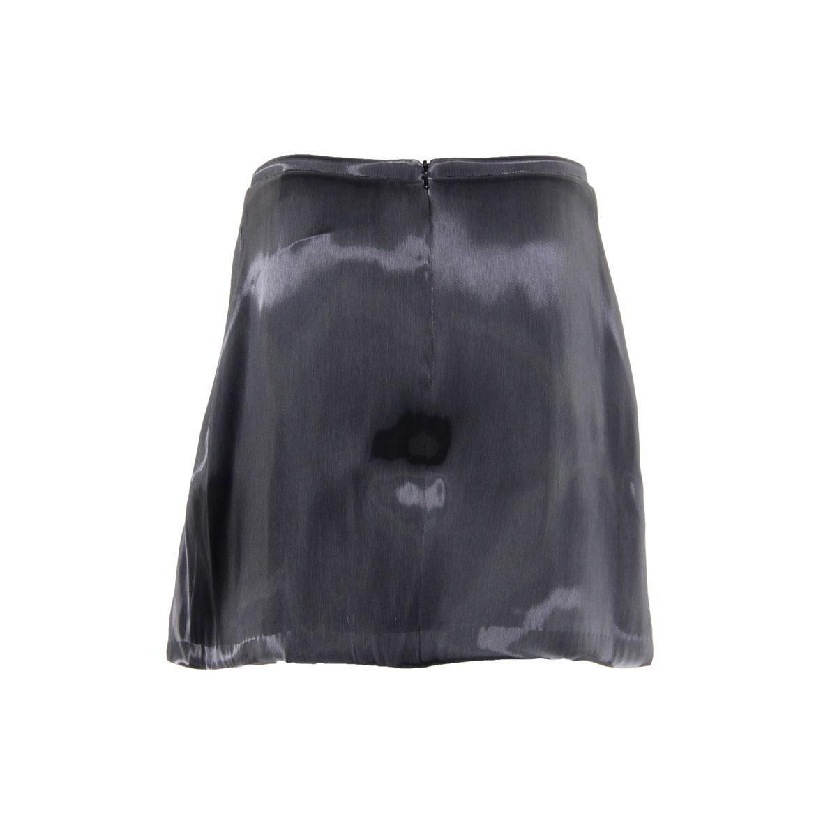 Zimmermann Womens Juniors Independent Mirror Iridescent Mini Tulip Skirt Black 3 by Zimmermann (Image #2)