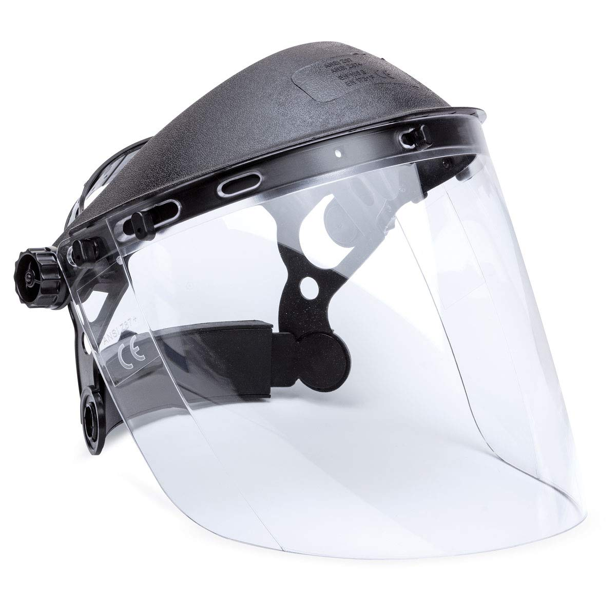 Rockwood Clear Safety Face Protection Shield Safety Eye Protection Cover Visor Anti-Uv Welding Grinding Flying Debris Helmet