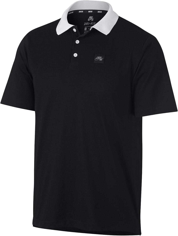 Nike M Nk SB Dry Polo Jersey SS Camiseta, Hombre: Amazon.es: Ropa ...