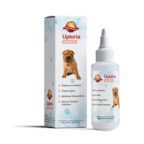 Uploria Pet World Gotas Oculares para Perros | para el ...