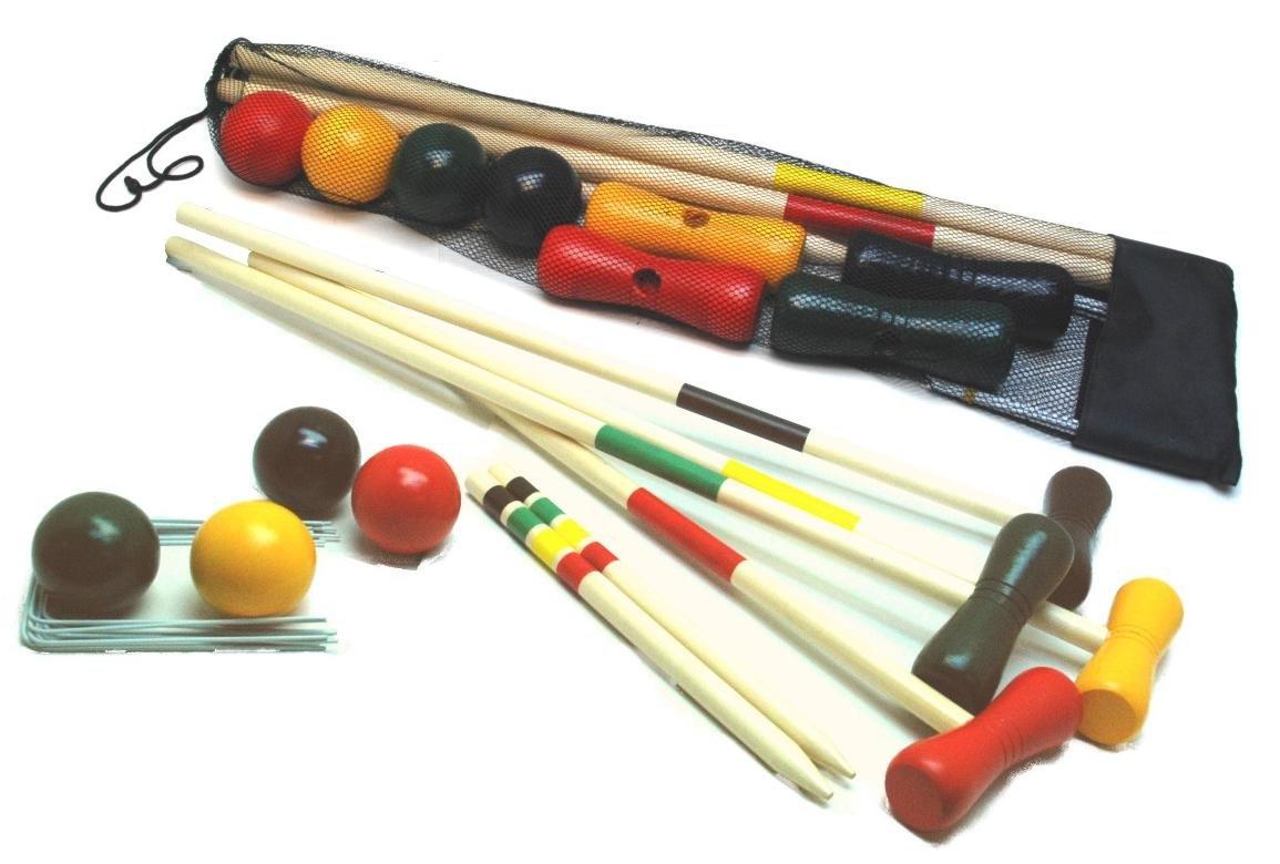 H.O.T. Games - Jeu de croquet en sac 4 joueurs
