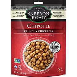 Saffron Road Crunchy Chickpeas, Chipotle, 6 Ounce
