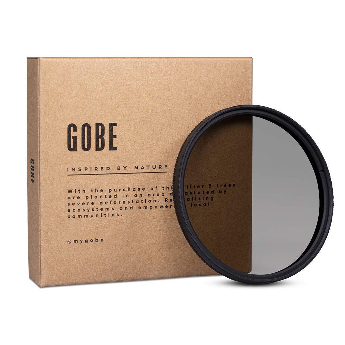 Gobe CPL 82mm Japan Optics Slim Polarized Filter by Gobe